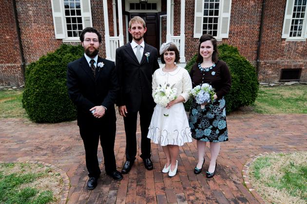 Brooks Ann's wedding day