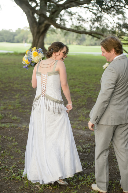 Loula's Custom Wedding Dress by Brooks Ann Camper Bridal Couture
