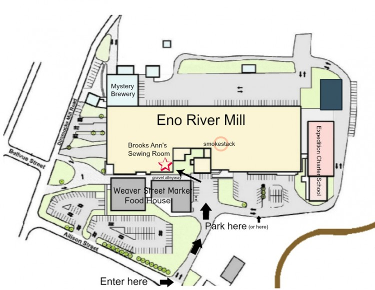 Eno Mill Map