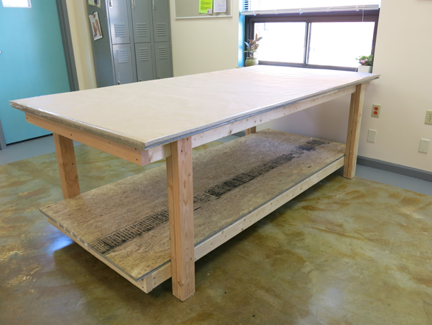 DIY Professional Sewing Room Table