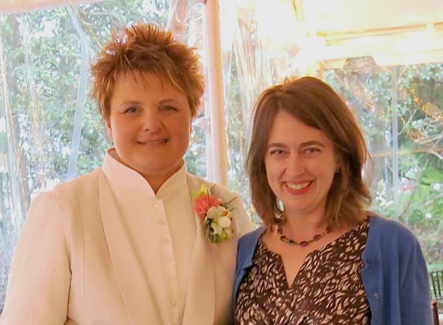 Diane and Brooks Ann, April 2014