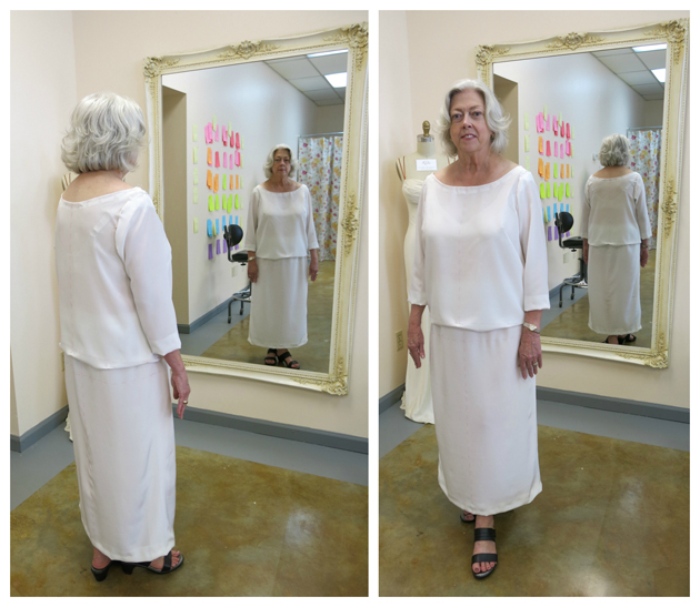 The Making Of My Moms 50th Anniversary Dress