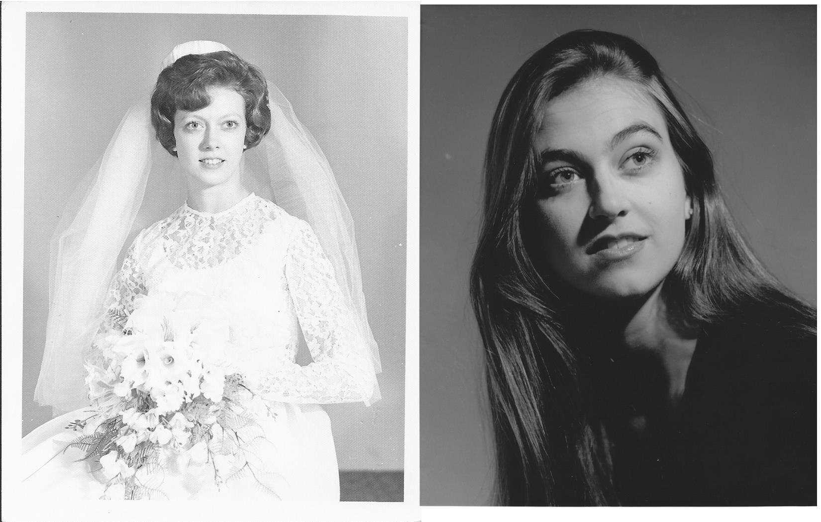 Pat Camper (at 18) and Brooks Ann Camper (at 20).
