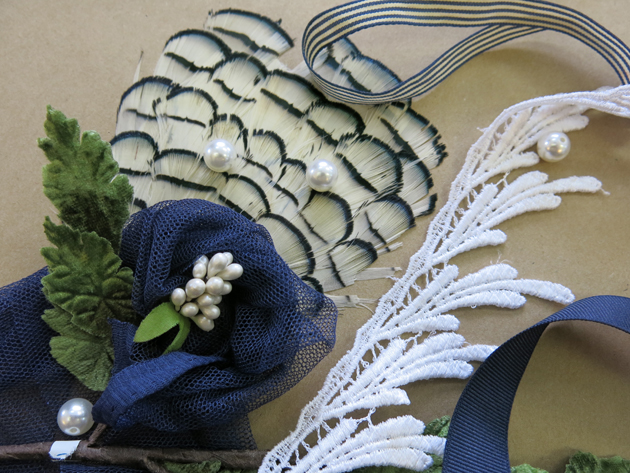 Heather's Inspirations for her custom bridal accessories by Brooks Ann Camper Bridal Couture
