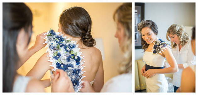 Heather's custom bridal accessories by Brooks Ann Camper Bridal Couture