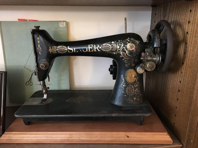 Brooks Ann's treadle machine