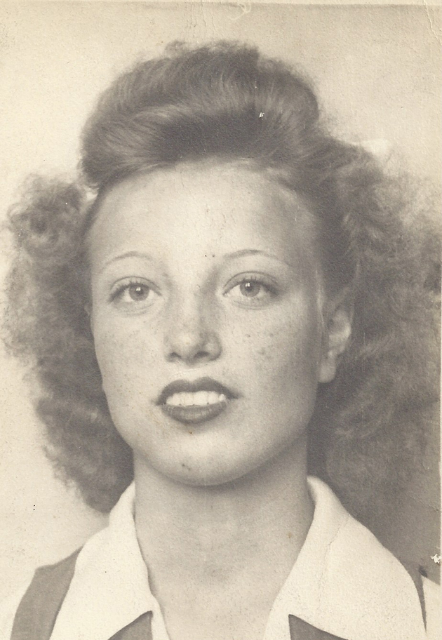 My grandmother Agnes as a young woman