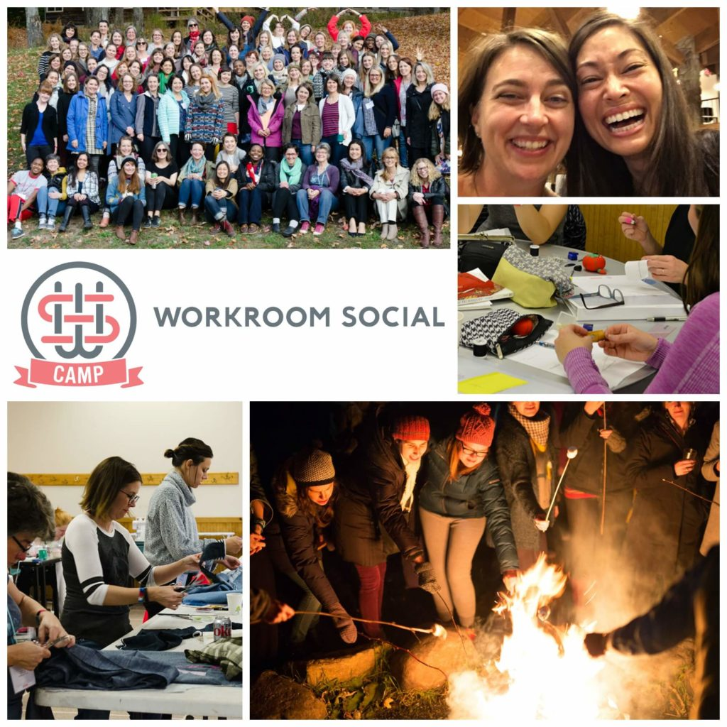 Brooks Ann Camper shares photos from Camp Workroom Social 2016