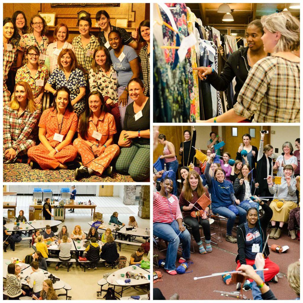Camp Activities at Camp Workroom Social