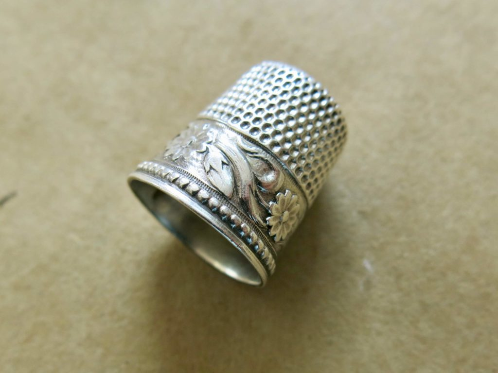 Brooks Ann's favorite thimble for hand sewing | Brooks Ann Camper Bridal Couture