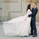Mary's custom overdress by Brooks Ann Camper Bridal Couture