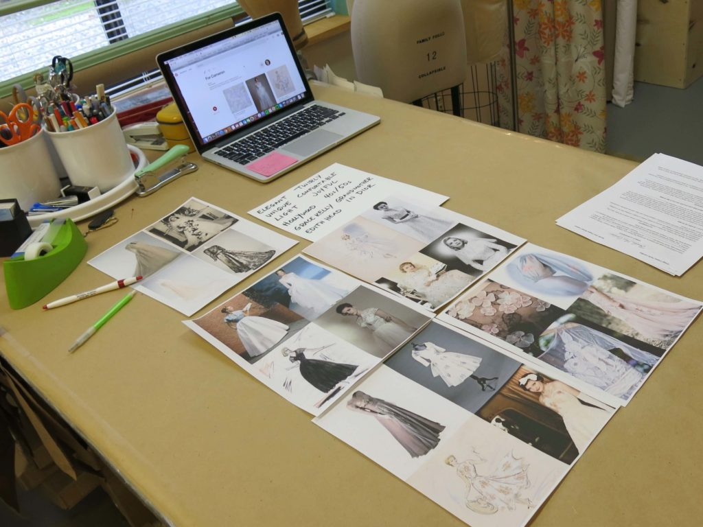 Cameron's Design Consultation with Brooks Ann Camper Bridal Couture