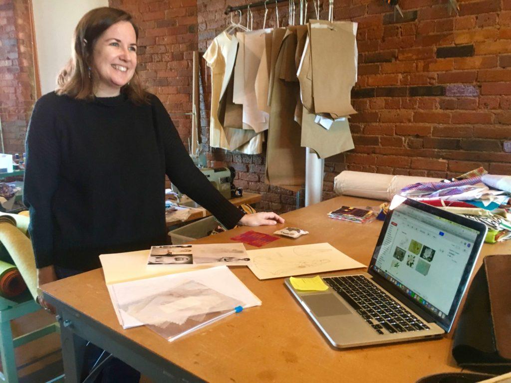Anne Schroth of Red Canary Studio in Greensboro | Brooks Ann Camper Bridal Couture