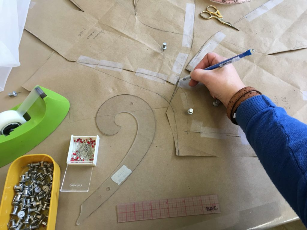 Pattern Corrections by Brooks Ann Camper Bridal Couture