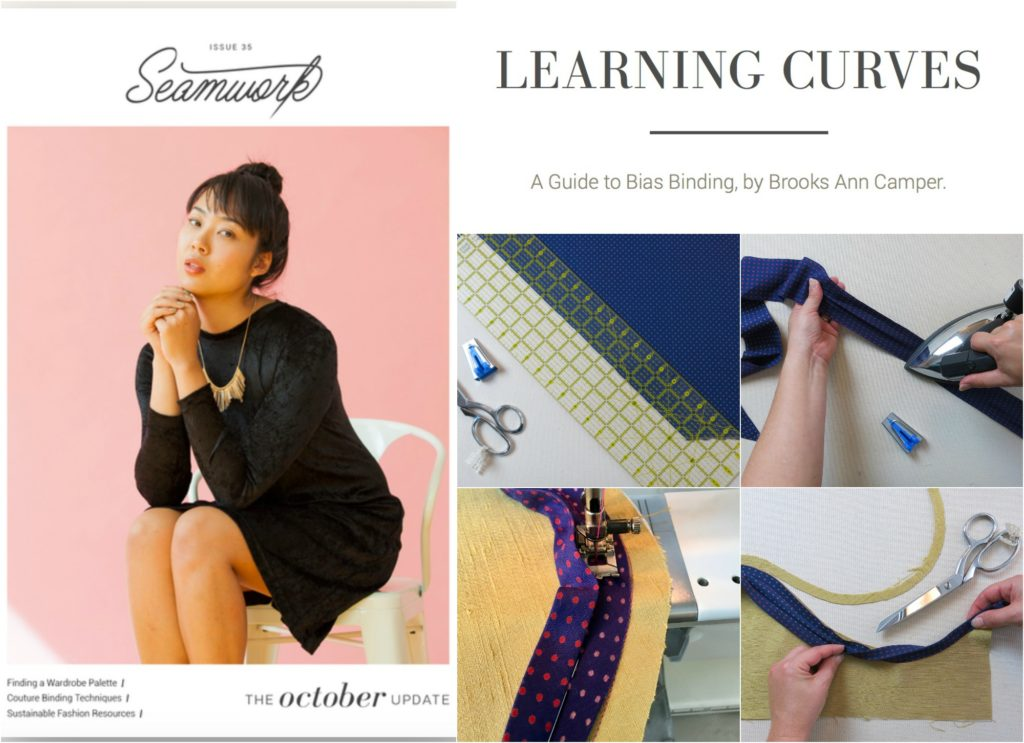 Seamwork Learning Curves by Brooks Ann Camper