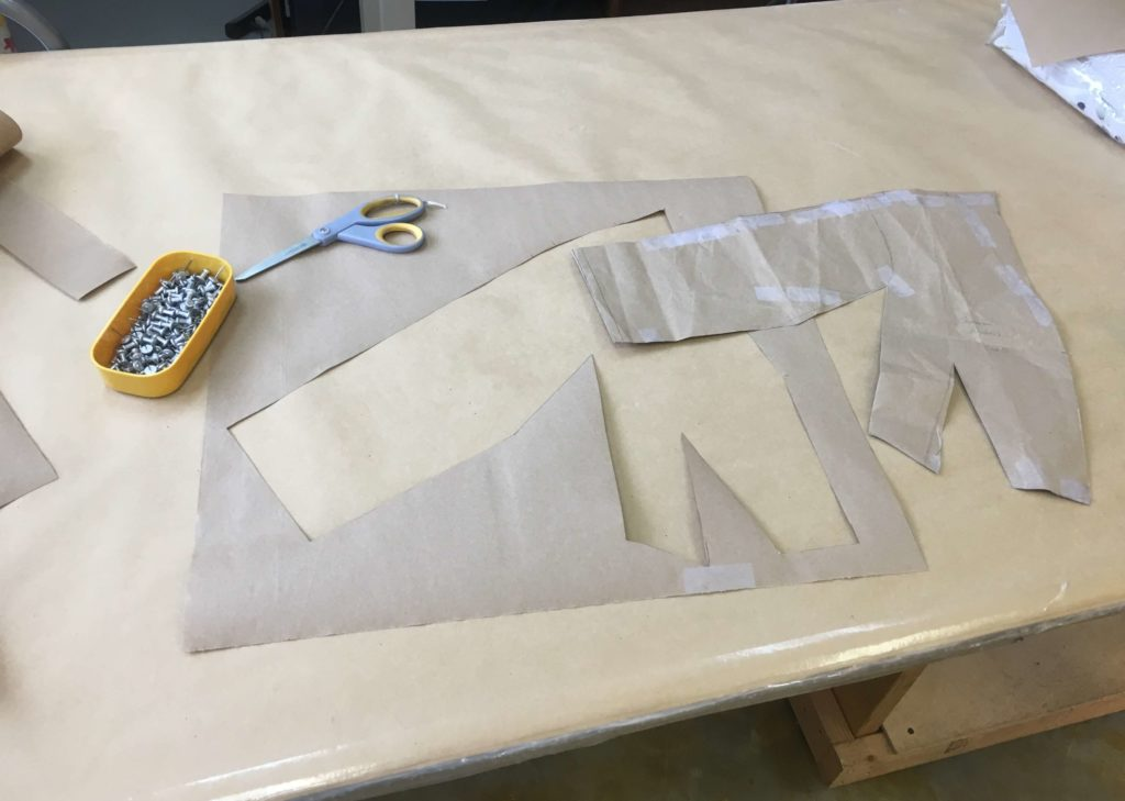 Careful Cutting for Cameron by Brooks Ann Camper Bridal Couture