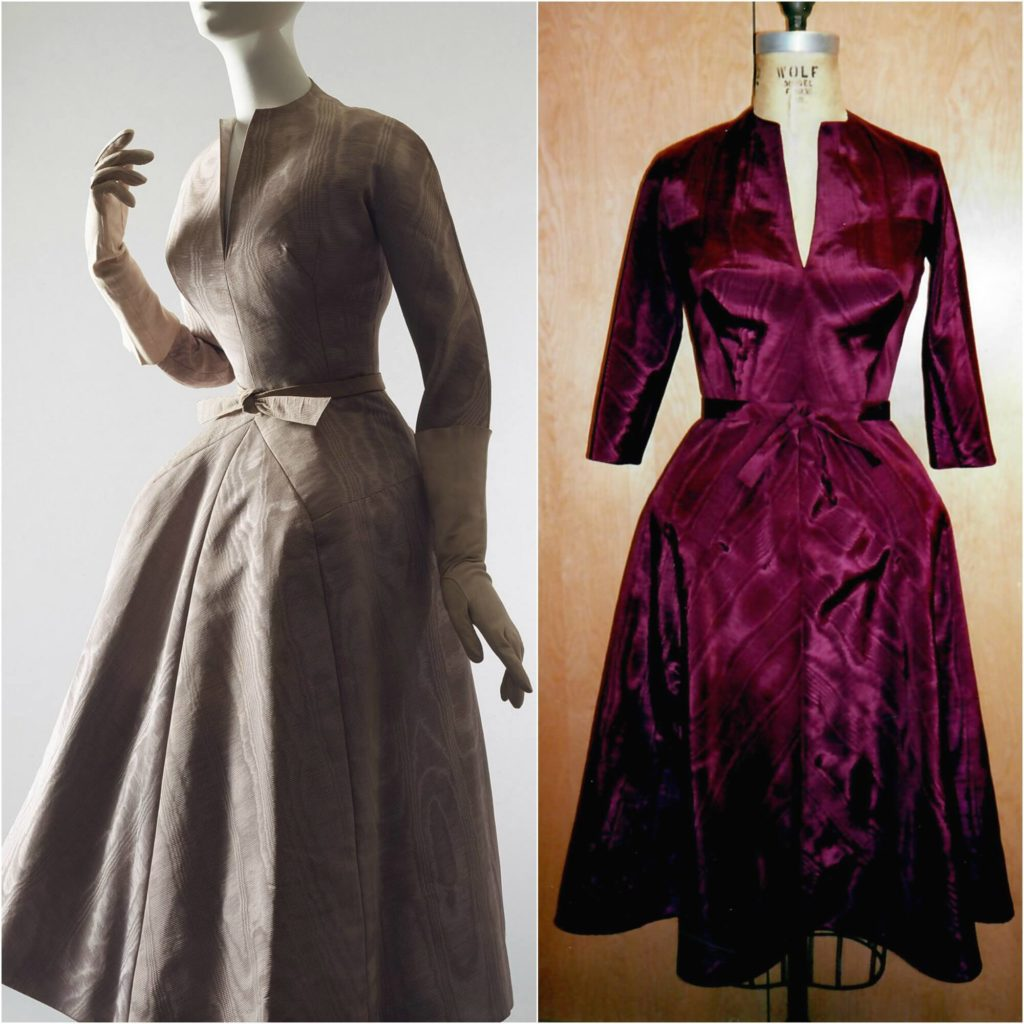 Dior's La Cigale from 1952 replicated by Brooks Ann Camper in early 2000