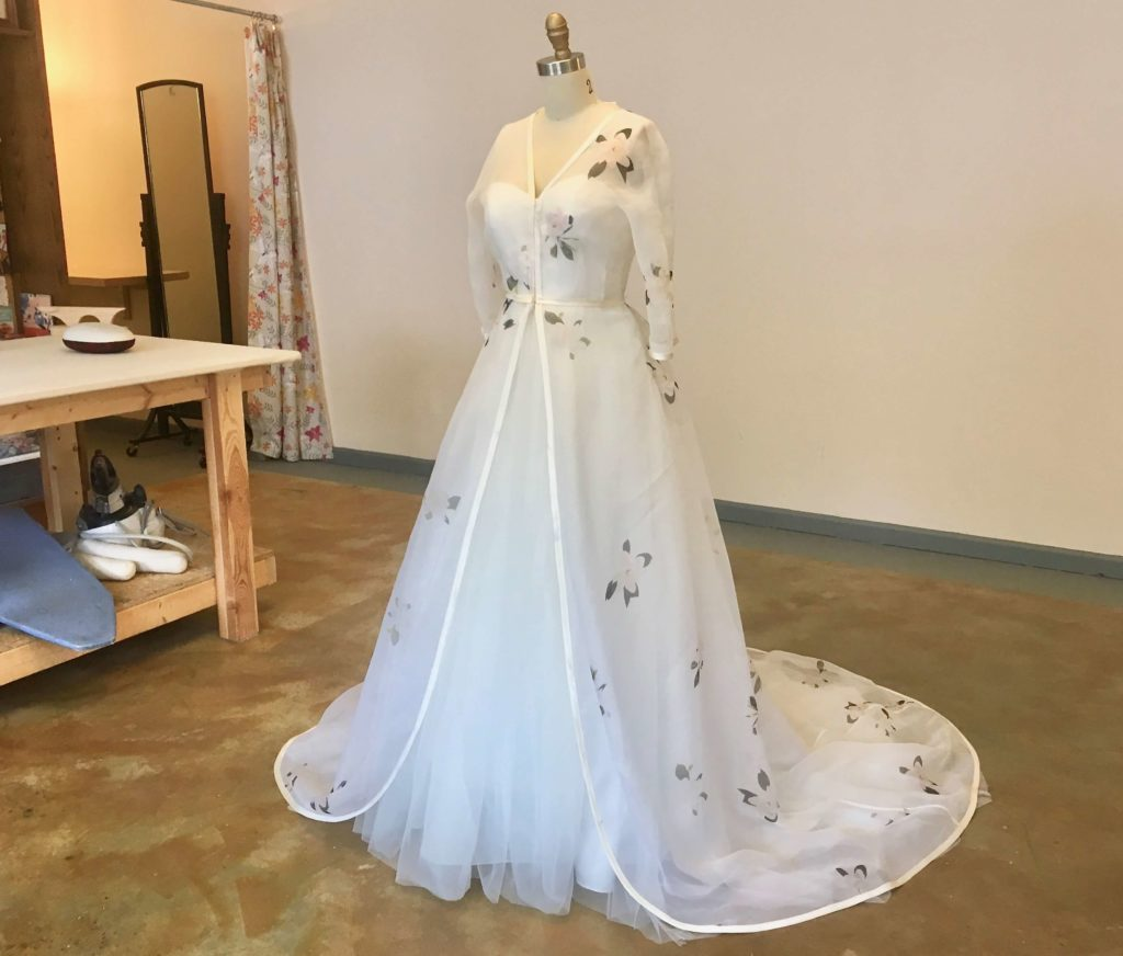 Fitting-Ready Finishes for Cameron by Brooks Ann Camper Bridal Couture