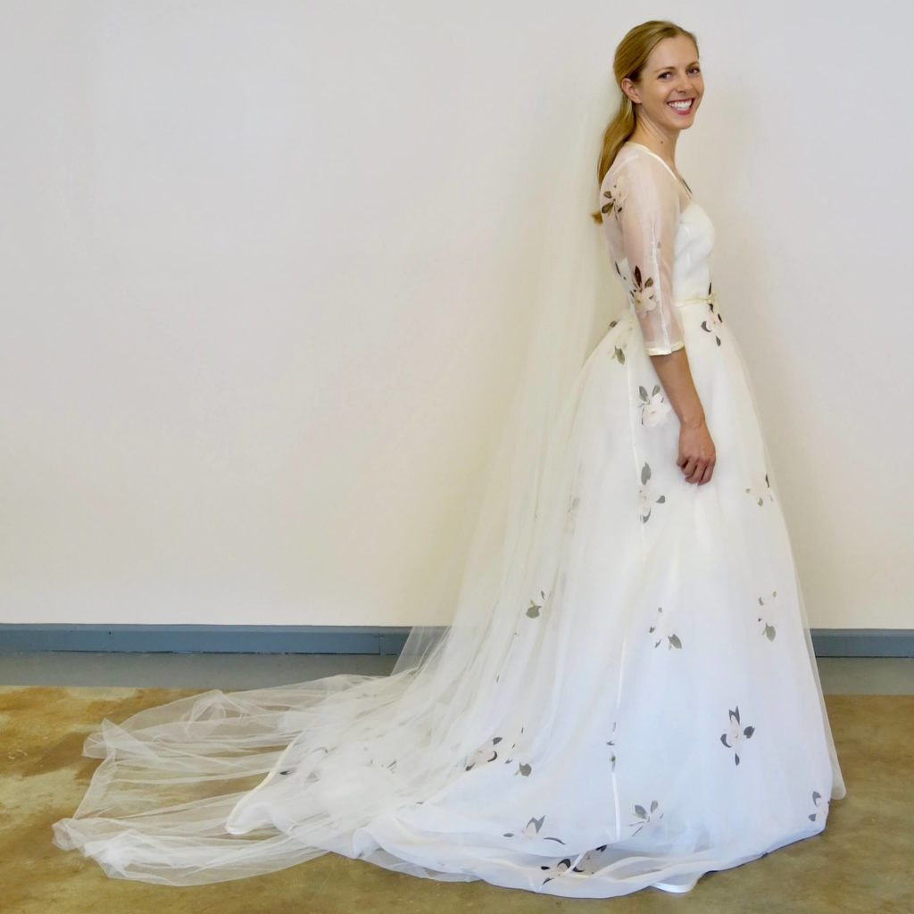 Cameron's final fitting by Brooks Ann Camper Bridal Couture