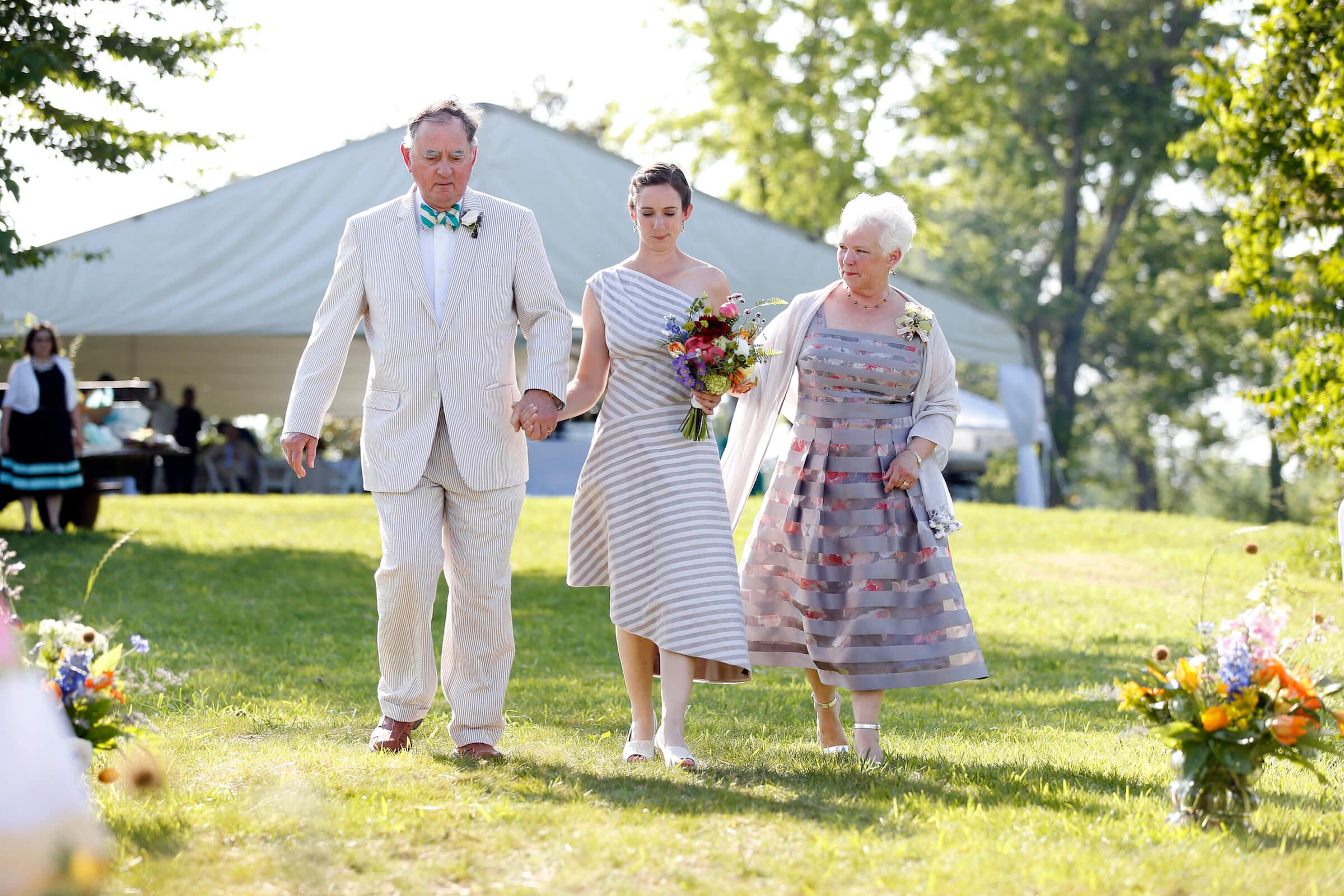 Sally's custom wedding dress by Brooks Ann Camper Bridal Couture