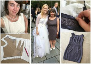 Creating my Dress for Cameron's Reception by Brooks Ann Camper Bridal Couture