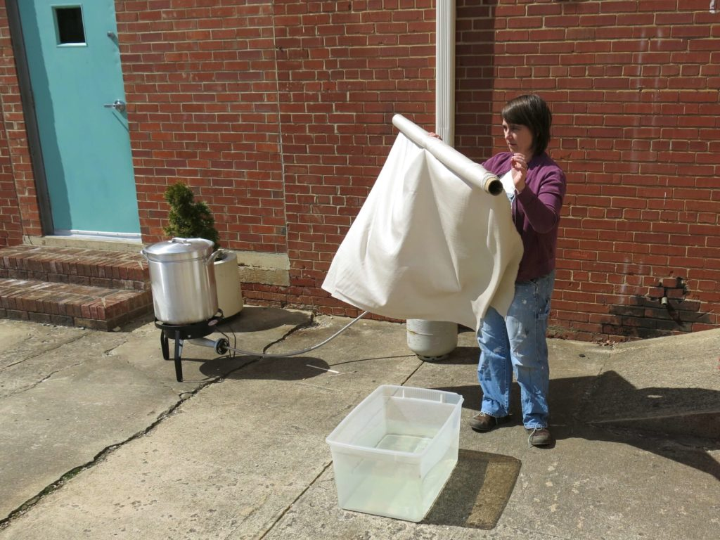 Dyeing for a Change by Brooks Ann Camper Bridal Couture
