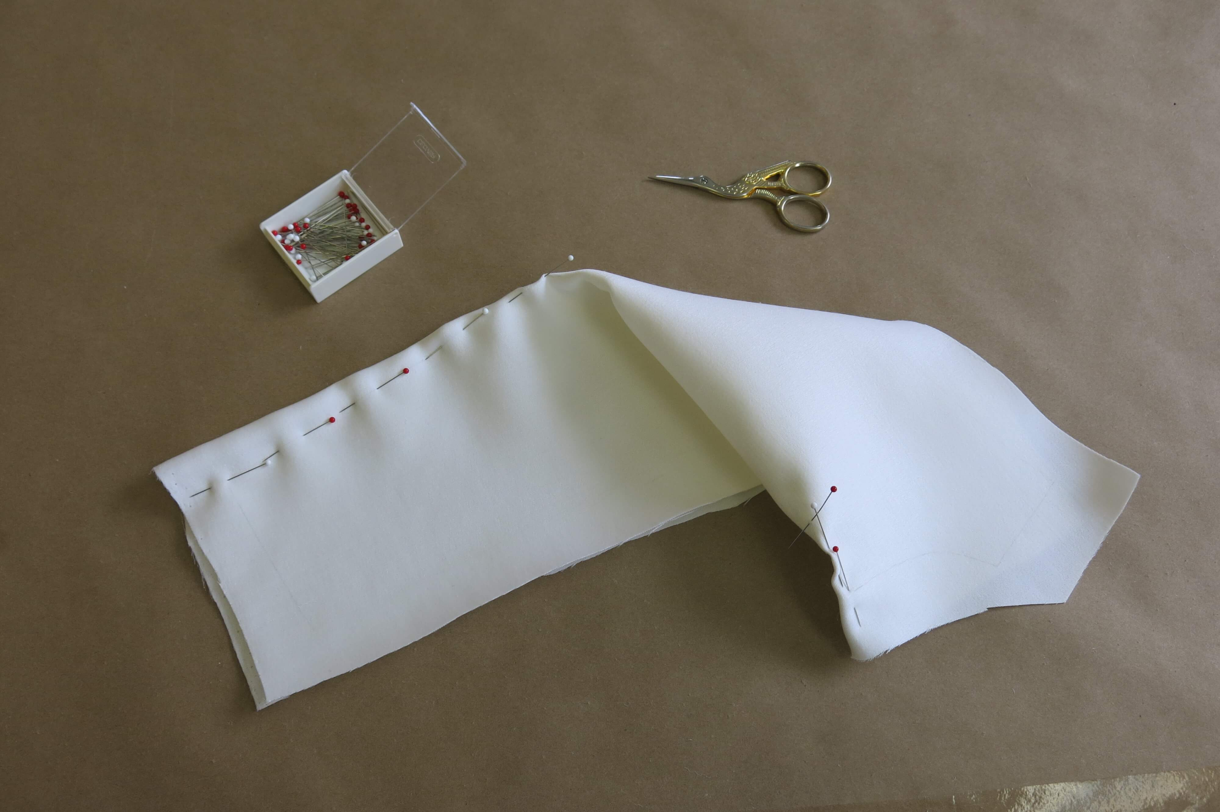 Crafting Deborah's Bodice by Brooks Ann Camper Bridal Couture