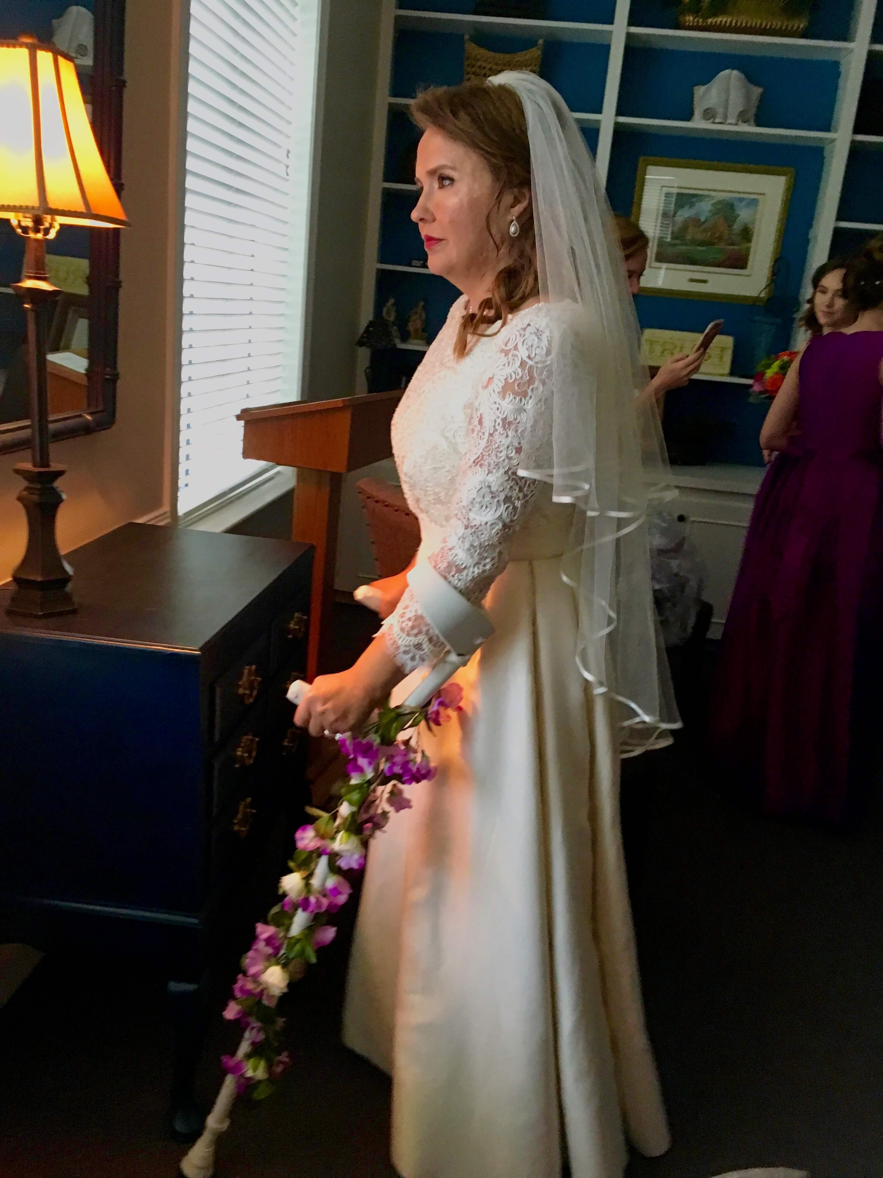 Deborah's Wedding Day by Brooks Ann Camper Bridal Couture