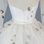 Cameron's Custom Wedding Dress by Brooks Ann Camper Bridal Couture
