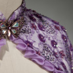 Jill's custom wedding jacket by Brooks Ann Camper Bridal Couture