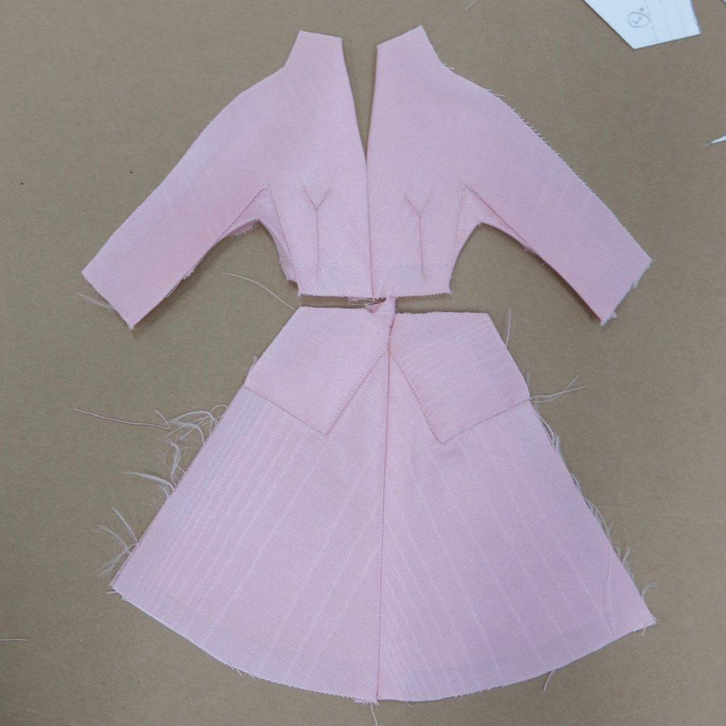 Top together, skirt together