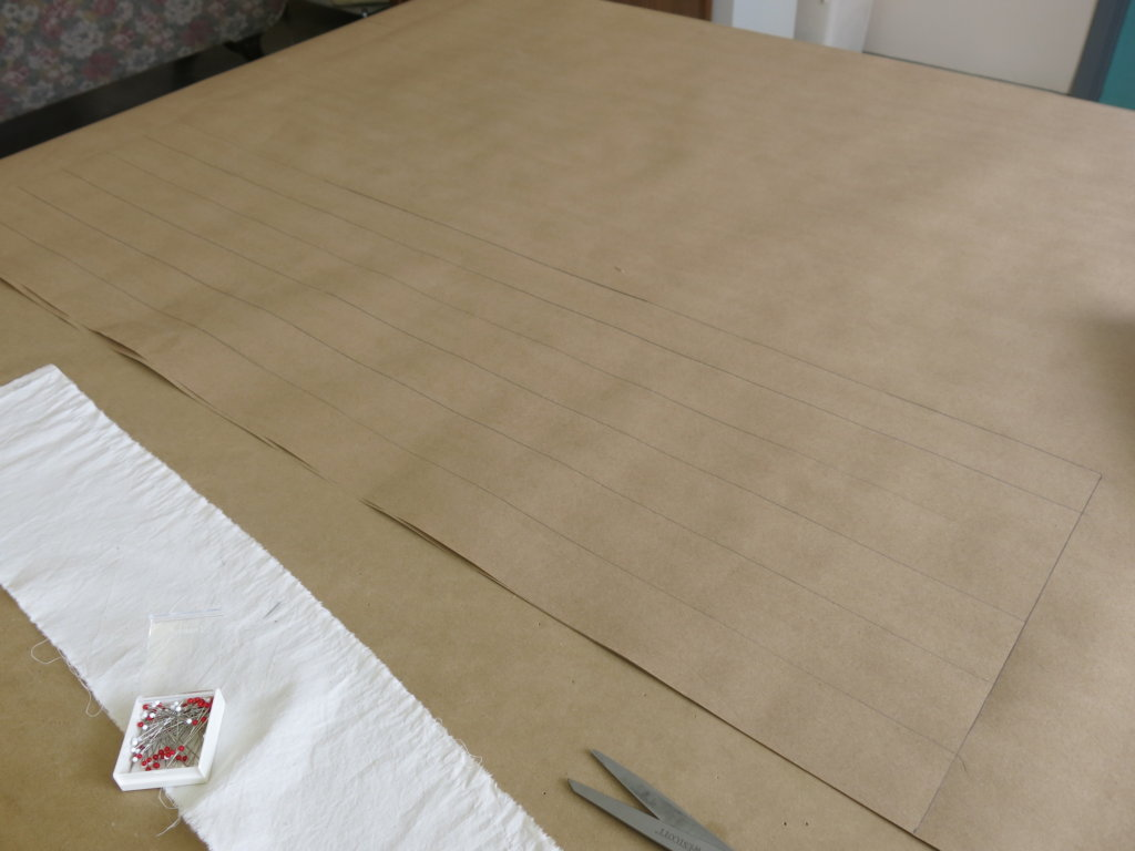 Draping and Drafting Tiffany's Custom Wedding Dress Patterns by Brooks Ann Camper Bridal Couture
