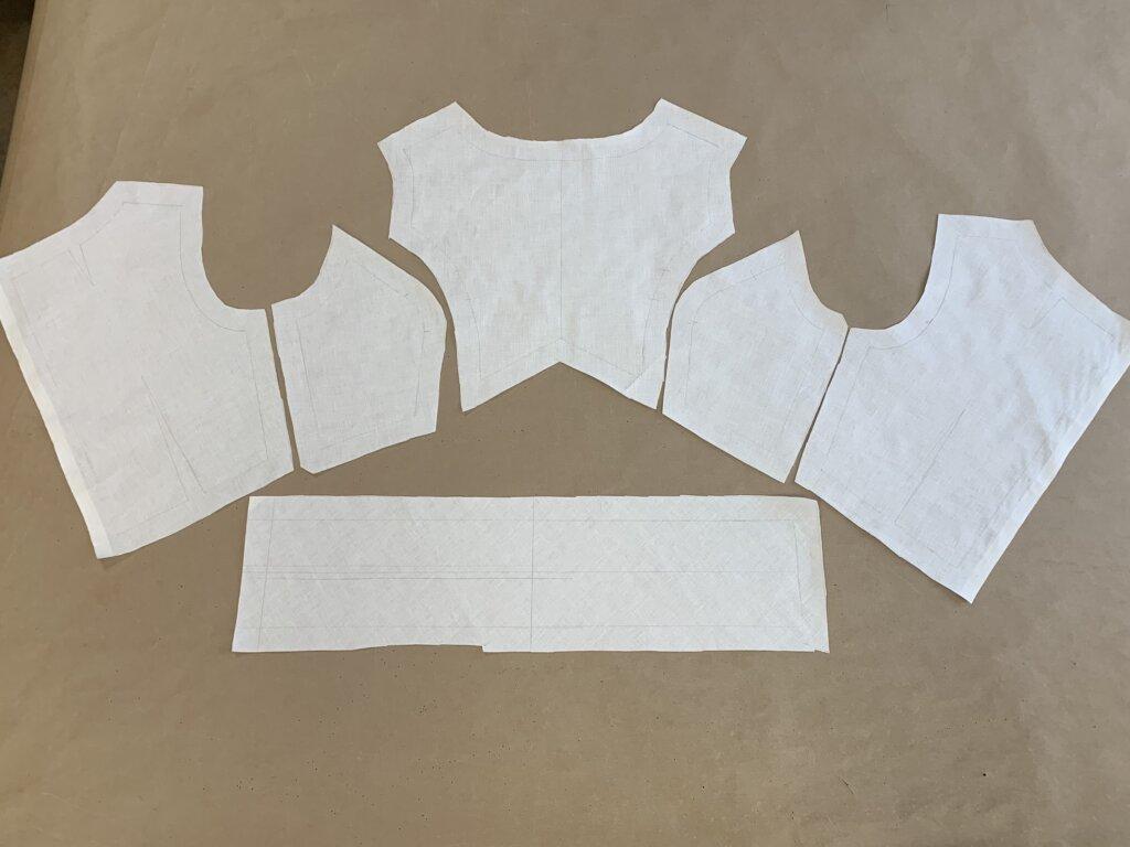 Making and Fitting Jenn's Mockup by Brooks Ann Camper